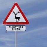 Christmas Ahead Stock Photo