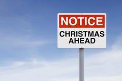 Christmas Ahead Royalty Free Stock Image