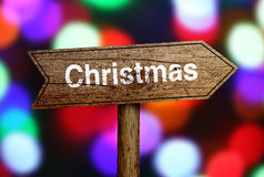 Christmas Ahead Stock Photography