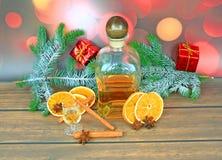 Christmas Alcohol Stock Image