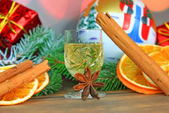 Christmas Alcohol Royalty Free Stock Photo
