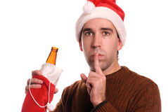 Christmas Alcoholic Royalty Free Stock Images