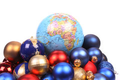 Christmas all over the world Royalty Free Stock Image