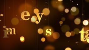 Christmas_087 allegro video d archivio