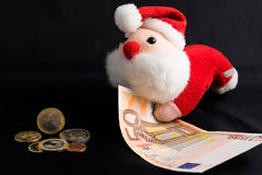 Christmas allowance Stock Photo