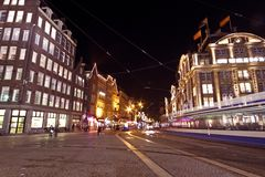 Christmas in Amsterdam the Nethe Stock Images