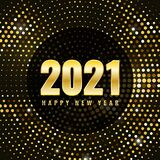 Christmas And Happy New Year 2021 Royalty Free Stock Photo