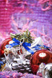 Christmas And New Year Decorations Royalty Free Stock Photography