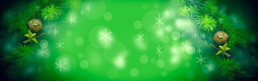 Christmas And New Year`s Decoration Outdoor Stock Images