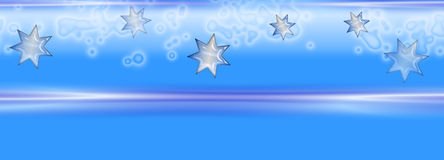 Christmas And Or Winter Banner Stock Photo