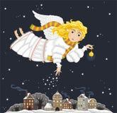 Christmas ange stock photo