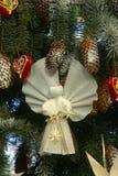 Christmas Angel. On Christmas tree Royalty Free Stock Image