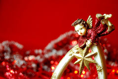 Christmas angel royalty free stock images