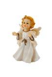 Christmas angel. Isolated on white Stock Photo