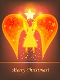 Christmas angel Stock Photography