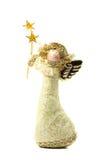 Christmas angel. Decoration on white background Stock Photo