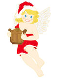 Christmas angel. Royalty Free Stock Photo