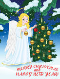 Christmas_angel Royalty Free Stock Photography