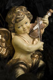 Christmas angel. A christmas angel with a violin Royalty Free Stock Photos