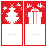 Christmas Angel Card Stock Photography