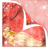 Christmas Angel Cards Royalty Free Stock Images