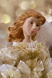 Christmas Angel Closeup Stock Photography