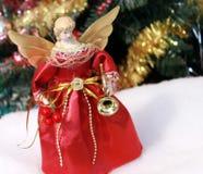 Christmas angel decoration Stock Photos