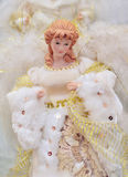 Christmas angel decoration. Beautiful of Christmas angel decoration stock photography