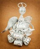 Christmas angel, decorative holiday product Royalty Free Stock Photo