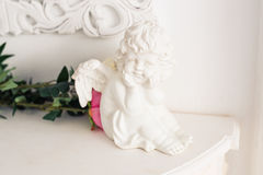 Christmas Angel figurine decoration Royalty Free Stock Image