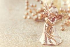 Christmas angel filtered image Stock Image