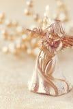 Christmas angel filtered image Stock Photos