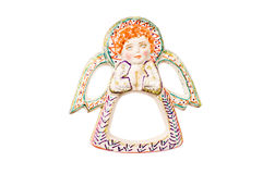 Christmas angel isolated. Royalty Free Stock Photography