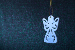 Christmas angel from a paper. Christmas Ornaments Stock Images