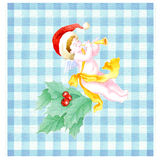 Christmas angel scottish Royalty Free Stock Photography