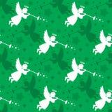Christmas Angel Seamless Royalty Free Stock Image