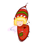 Christmas angel vector Stock Photo