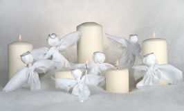 Christmas Angels stock images