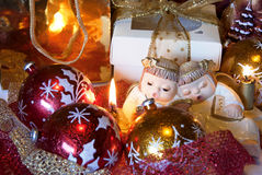Christmas angels Royalty Free Stock Images
