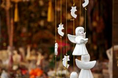 Christmas angels Stock Photography