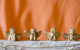 Christmas angels stock photography