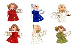 Christmas angels Stock Image