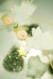 Christmas angels Stock Image