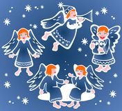 Christmas Angels Stock Photos