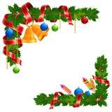 Christmas angle garland Royalty Free Stock Photo