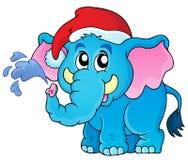 Christmas animal theme image 2 Royalty Free Stock Image