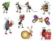 Christmas animals royalty free stock image
