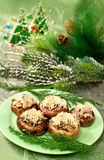 Christmas  appetizer Stock Photography