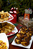 Christmas appetizer Stock Images