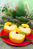Christmas  appetizer Royalty Free Stock Photos